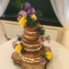 Spring Naked Wedding Cakes Sussex
